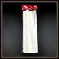 Палочки для кейк попсов бумажные большие 20 см * 4 мм