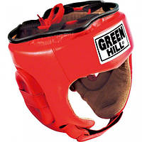 "Шлем боксерский Green Hill ""Five star"" красный HGF-4013 размер М"