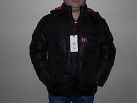 Зимняя мужская верхняя одежда (куртка черная)