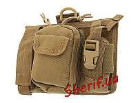 Поясная сумка (подсумок для телефона и др.) Max Fuchs Coyote