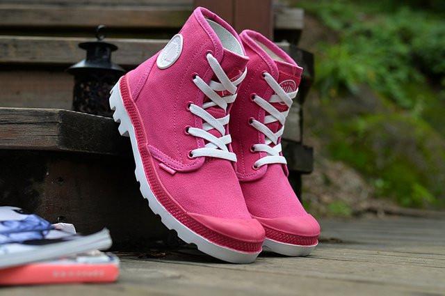 Кеды  Palladium Pampa Hi Pink оригинал женские