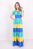 Модный яркий сарафан радуга.