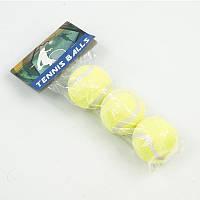 Мяч 466-468 (80) для большого тенниса, в кульке