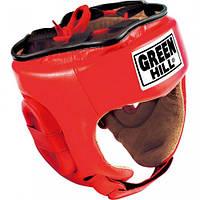 "Шлем боксерский Green Hill ""Five star"" красный HGF-4013 размер L"