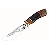 Нож охотничий Медведь (кожа)