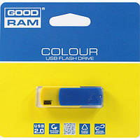 USB флеш 16ГБ Goodram Ukraine сине-желтая