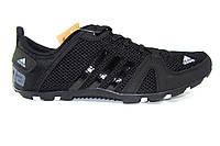 Мужские кроссовки Adidas Zictech, сетка, черные, Р. 41