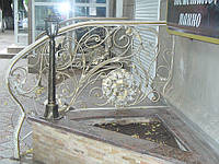 Кованые лестницы, перила, решетки в Одессе