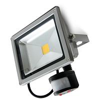 Светодиодный светильник наружного освещения 50W LEDEX с датчиком движения