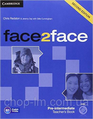 Face2Face Second Editon Pre-Intermediate Teacher's Book+DVD-ROM (Книга для учителя)