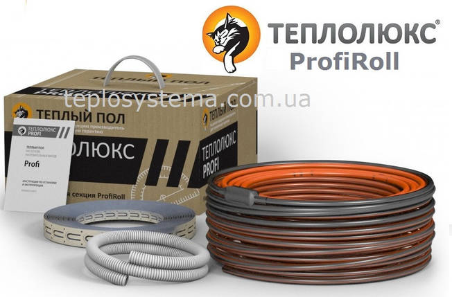 Теплый пол - двухжильный нагревательный кабель Теплолюкс ProfiRoll  1120 (6,0 – 8,05 м2) Россия, фото 2