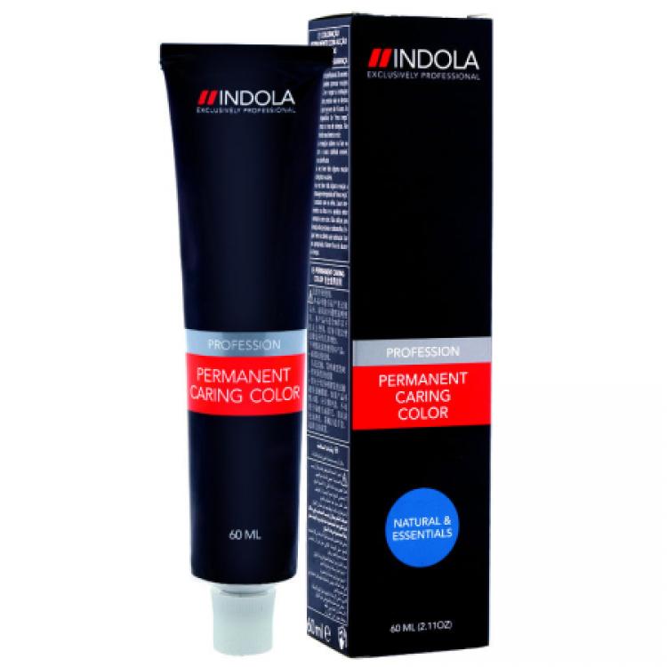 4/04 середній коричневий натуральний мідний INDOLA PROFESSIONAL Фарба для волосся 60 мл.