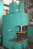 Пресс гидравлический PYE-100 (РУЕ-100) (100т.с.), ERFURT