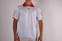 Футбольная форма игровая LigaSport (Белый+Красный)