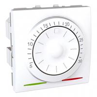 Термостат Unica для конд. и систем отопл. 8А белый