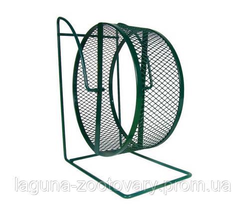 Беговое колесо для грызунов 28 см/ сетка, фото 2