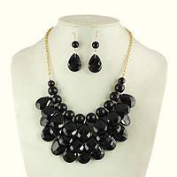 Комплект ожерелье и серьги Тара