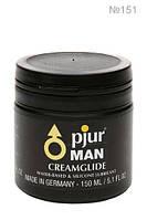 Силиконовая крем-смазка на водной основе «Pjur Man Creamglide» (150 мл)