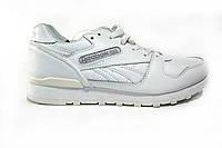 Мужские кроссовки Reebok, кожаные, белые, Р. 41 43 44