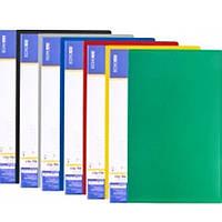 Папки с зажимом Economix 31208-04 зеленый А4 18мм с боковым прижимом CLIP В Light