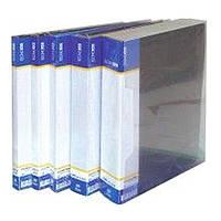 Папки с файлами Economix 30602-01 черный А4 20ф