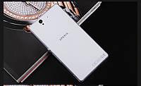 Ультратонкий 0,3 мм чехол для Sony Xperia Z L36i C6602 прозрачный