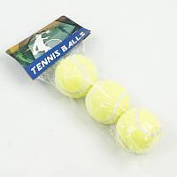 Мяч 466-467 (80) для большого тенниса, в кульке