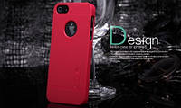 Чехол Nillkin для Apple iPhone 5 красный (+плёнка)