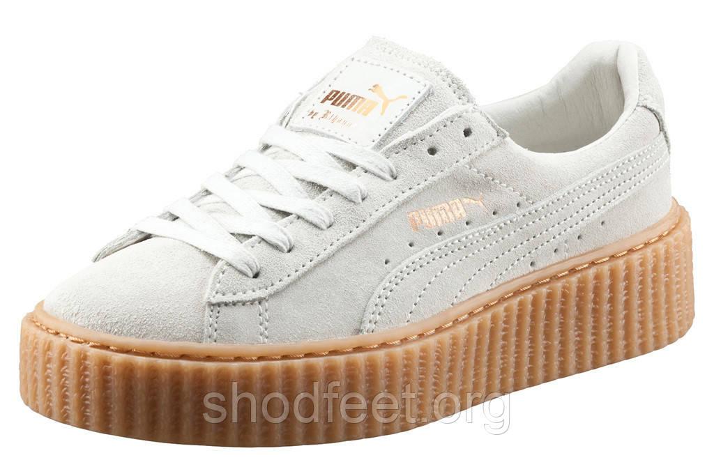 Женские кроссовки Puma Rihanna Suede Creepers