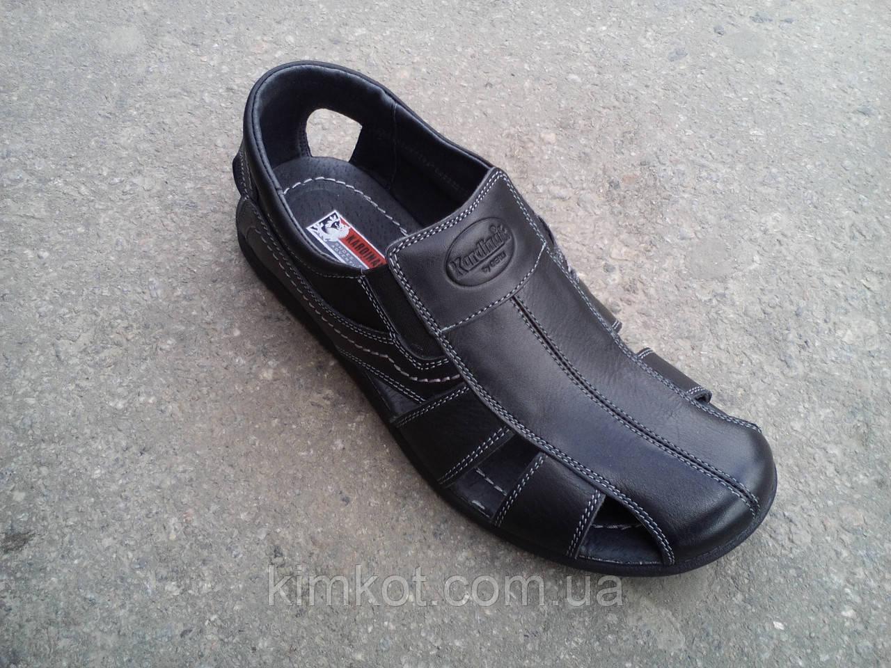 f8677f4a9 Сандалии кожаные мужские закрытые KARDINAL 40 -45 - Интернет-Магазин