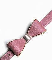 Универсальный кожаный пояс с бантиком 8 цветов.