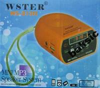 Портативный Mp3 плеер колонка WS-813N