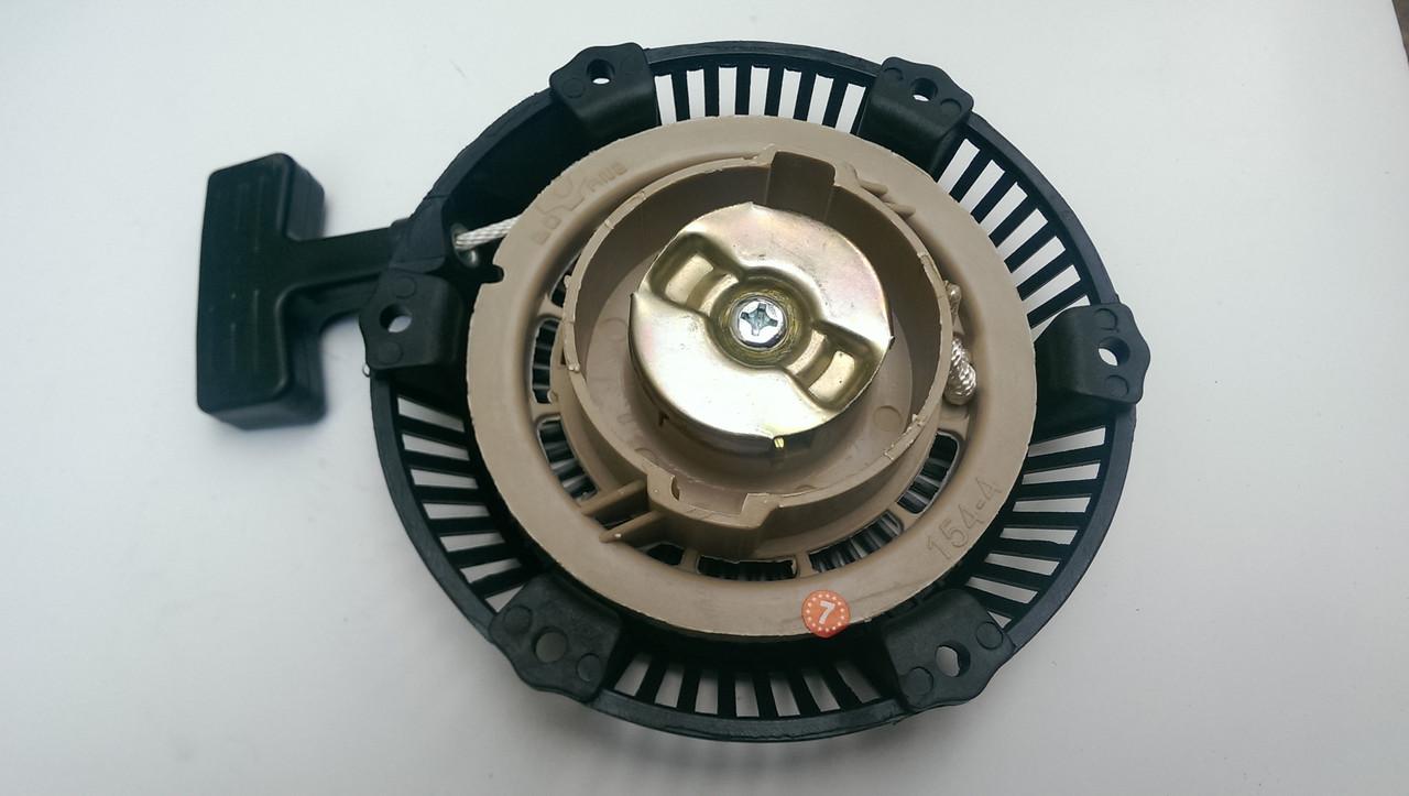 Стартер ручний (в зборі) м/б, бензогенератора 168F/170F (6,5/7Hp, D-150mm) (пластмасовий)