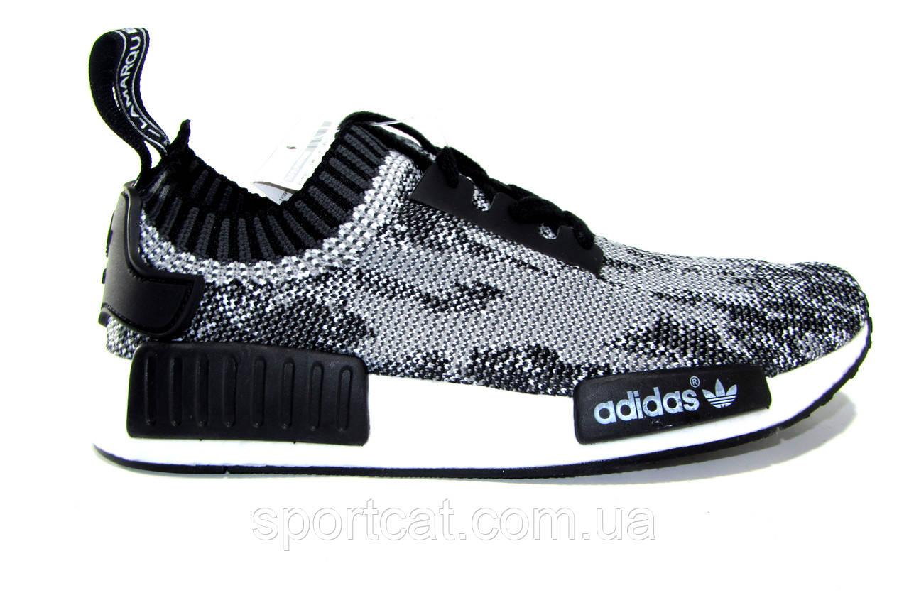 Мужские повседневные кроссовки Adidas NMD RUNNER, белые