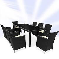 Комплект уличной мебели на 8 персон
