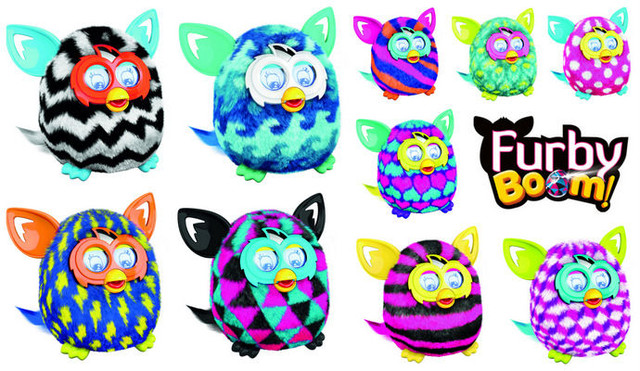 Інтерактивні іграшки Furby