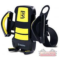 Держатель велосипедный REMAX Car Holder / цвет: черный с желтым