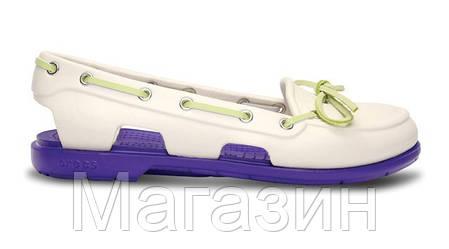 Женская обувь крокс Crocs белые, фото 2