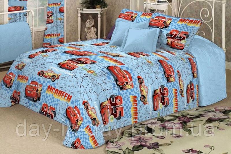 Полуторное постельное белье Cars McQueen - интернет магазин day-in-day в Хмельницком