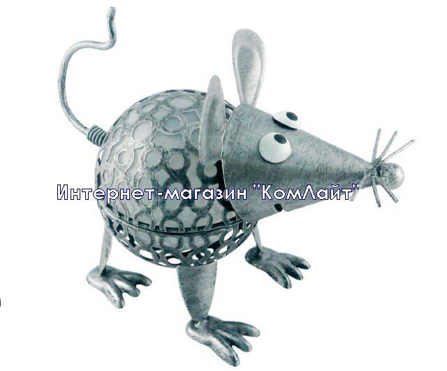 """Светодиодный садовый светильник на солнечной батарее """"Мышь"""""""