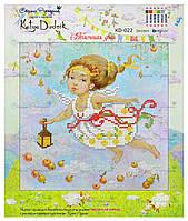 """Рисунок - схема для вышивания бисером """"Яблочная фея"""""""