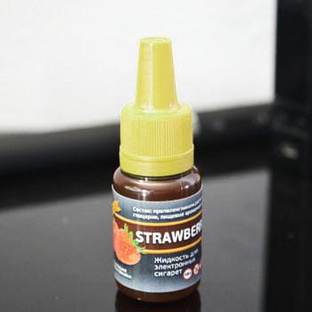 """Жидкость для электронной сигареты """"Клубника"""" 3мг/мл"""