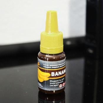 """Жидкость для электронной сигареты """"Банан"""" 6мг/мл"""