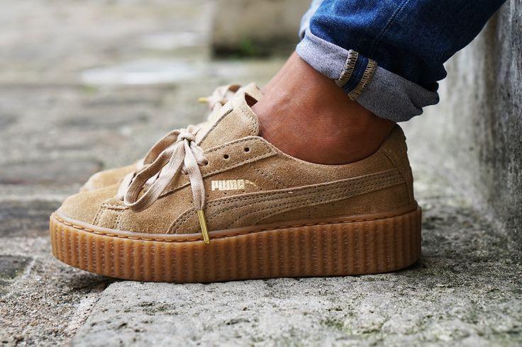 72ffc7f81ee4 Женские кроссовки Puma Rihanna Wheat, цена 1 499 грн., купить в ...