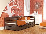 """Односпальне ліжко """"Нота плюс"""" з бука (щит, масив), фото 7"""