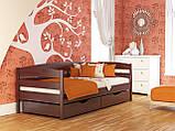 """Односпальне ліжко """"Нота плюс"""" з бука (щит, масив), фото 9"""