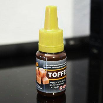 """Жидкость для электронной сигареты """"Тоффи"""" 6мг/мл"""