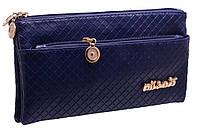 Красивый женский клатч A101 Milanis Blue