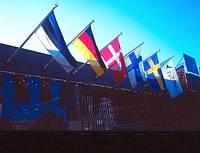 Алюминиевые флагштоки фасадные
