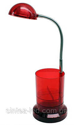 Светодиодная настольная лампа Horoz (HL010L) 3W красная Код.56670, фото 2
